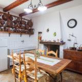 La cucina di una volta, luogo di intensa socialità